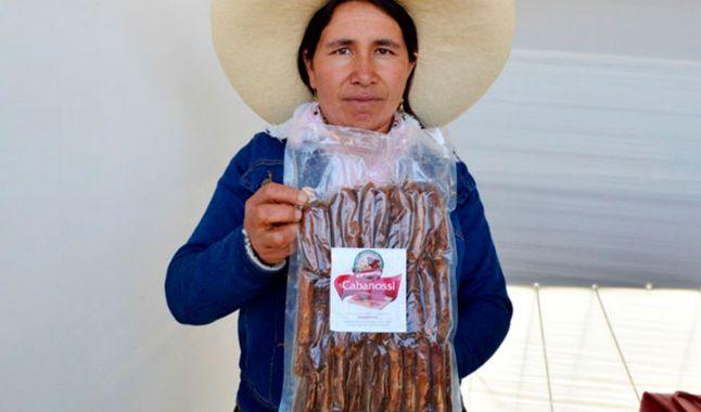 Condebamba empezó a producir salchicha de cuy para combatir la anemia