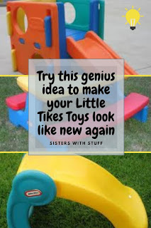 Make your Little Tikes toys look like new again