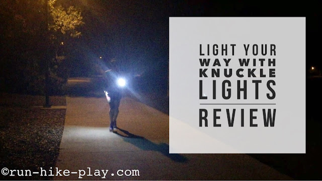 Light Your Run with Knuckle Lights - Review