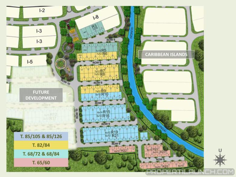 Site Plan Cluster Buenos Park BSD
