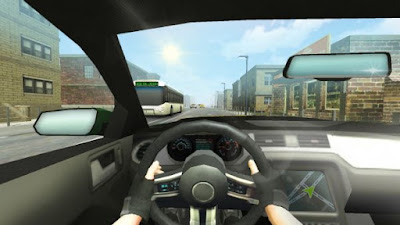 Drive your car through endless highway traffic and realistic environment Highway Traffic Driving v1.1 Full Apk