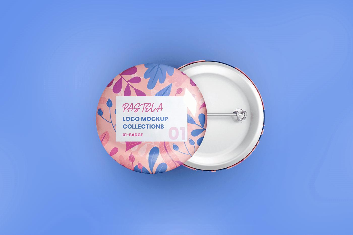 20 Mockup Pastela Logo Mockup Collection (PSD)