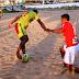 Beach soccer: Mecão perde amistoso para Galinhos