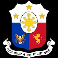 Logo Gambar Lambang Simbol Negara Filipina PNG JPG ukuran 200 px