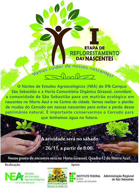 I Etapa de Reflorestamento das Nascentes do Morro Azul