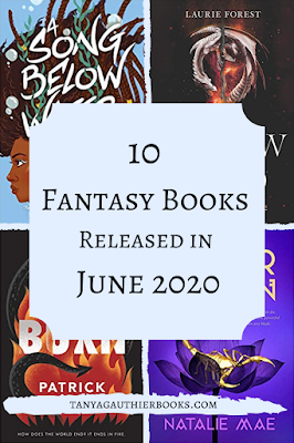 10 Fantasy Books Released In June 2020