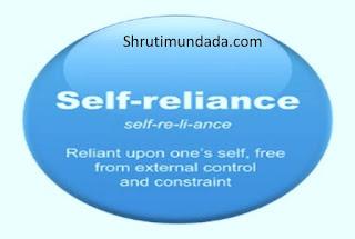 आत्मनिर्भरता-Aatmanirbharta-Self reliance
