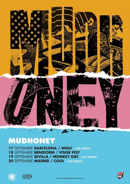 Agenda de giras, conciertos y festivales - Página 2 Mudhoney