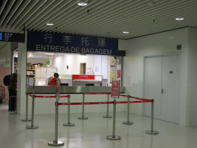 アウターハーバーフェリーターミナル 荷物預かり窓口