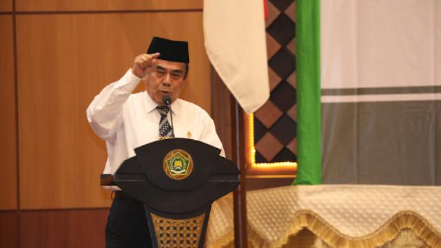 Menag soal Doa Bahasa Indonesia: Koruptor Nanti Gemetar!