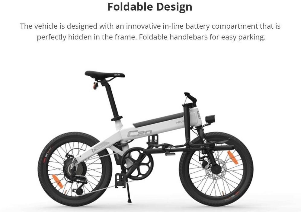 Sepeda Lipat Tipe Electric Assist