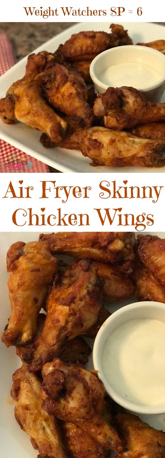 Buffalo Style Air Fryer Chicken Wings
