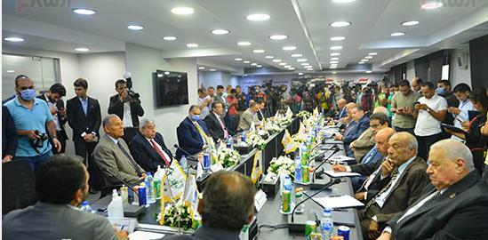 مستقبل وطن: أهل الشر لم يتصورا اجتماعنا لإعلان القائمة الوطنية من أجل مصر