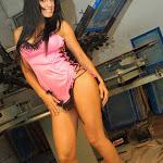 Andrea Rincon, Selena Spice Galeria 38 : Baby Doll Rosado, Tanga Rosada, Total Rosada Foto 15