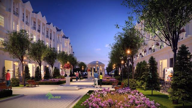 Cảnh quan về đêm đẹp lung linh tại Louis City