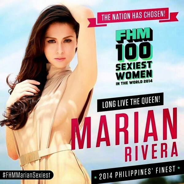 Marian Rivera Sexiest Woman FHM 2014