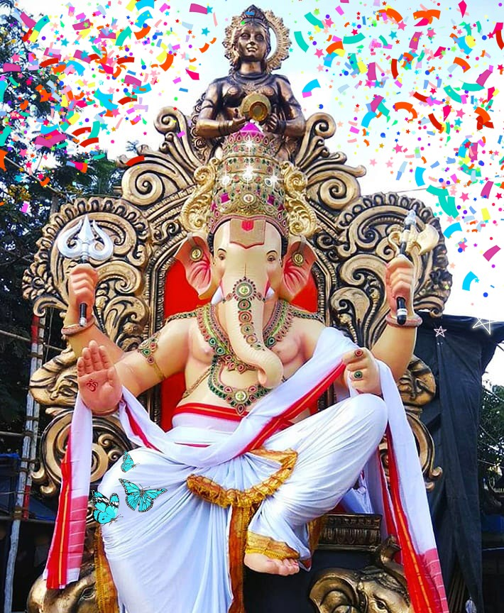 Ganesh chaturthi wishes images, gifs wallpapers, hd photos pics whatsapp status 2019