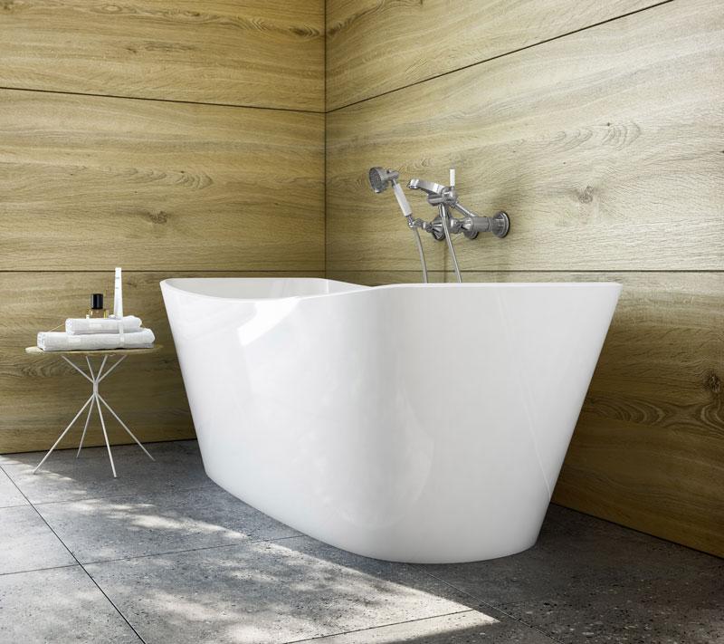 La vasca freestanding di Victoria + Albert