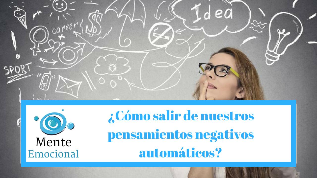 pensamientos negativos automáticos