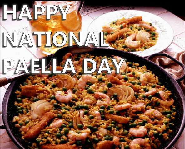 National Spanish Paella Day Wishes For Facebook