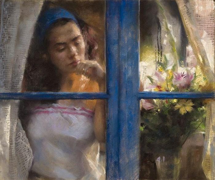 Vicente Romero Redondo 1956 | Spanish Figurative painter