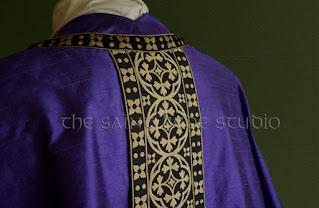 Violet vestments