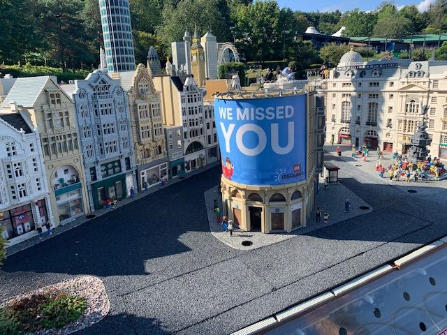 Legoland Miniland inspired by London
