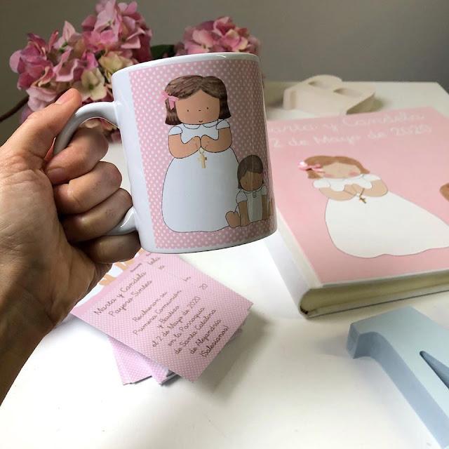 taza regalo primera comunión personalizada
