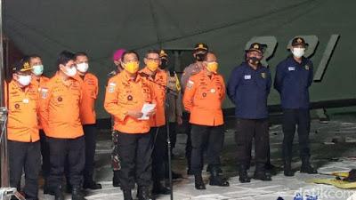 139 Kantong Jenazah Terkumpul dari Evakuasi Sriwijaya Air hingga Malam Ini