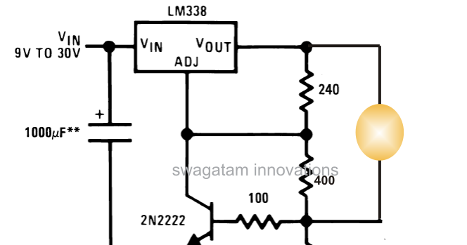 3 Watt 5 Watt LED DC to DC Constant Current Driver Circuit