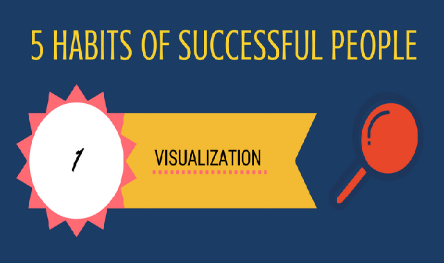 5 Habits Of Successful People #infographic