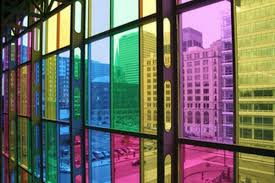 Colored Window Panes