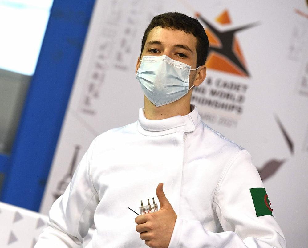 بطولة العالم المبارزة أشبال: قرارية محمد شريف في المركز 46