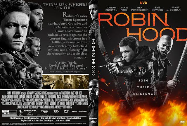 Robin Hood DVD Cover