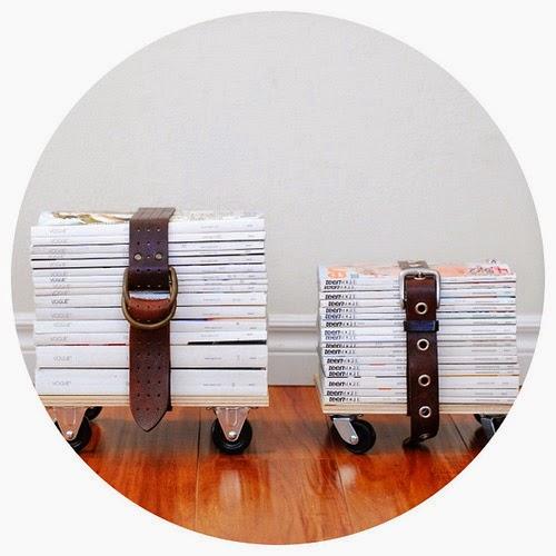 la reines blog upcycling hocker aus zeitschriften selber machen. Black Bedroom Furniture Sets. Home Design Ideas