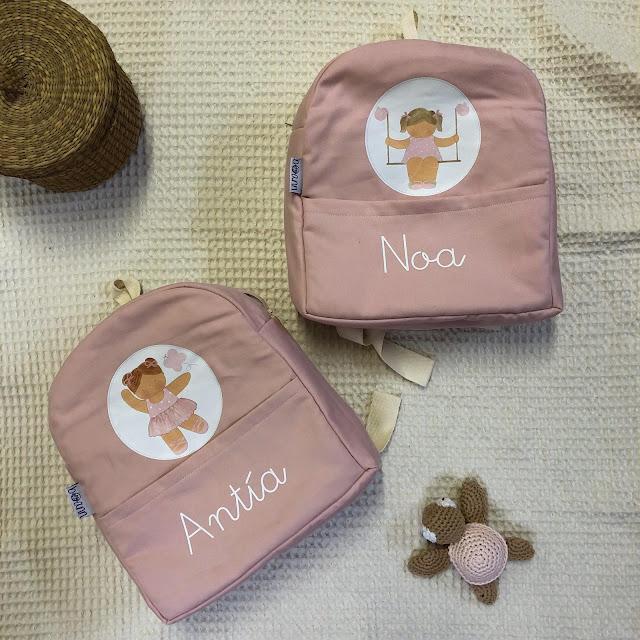 mochilas infantiles personalizadas con nombre
