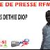 Revue de presse (Français) Rfm du mardi 25 septembre 2018 par Georges Déthié Diop