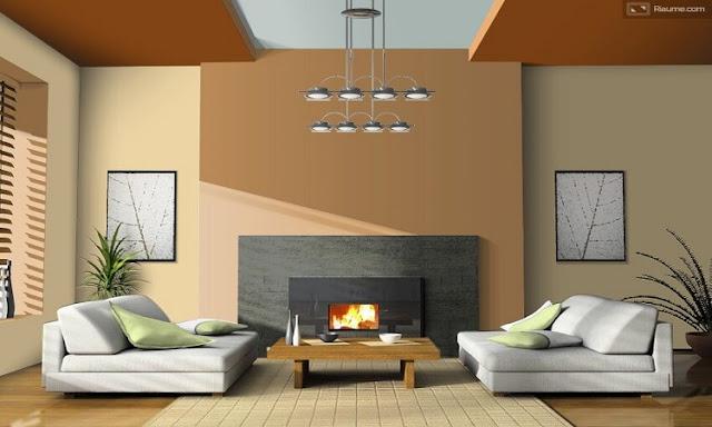 Contoh II: Kombinasi Warna Rumah Minimalis Sederhana