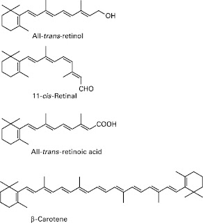 Structure of vitamin A
