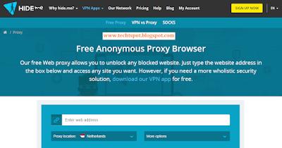 Top 5 Best Free Proxy VPN Sites List 3