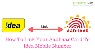 How To Link Your Aadhaar Card To Idea Mobile Number