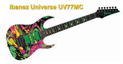 Ibanez Universe 7 String Guitar