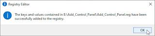 Cara Menambahkan Control Panel ke Context Menu Desktop