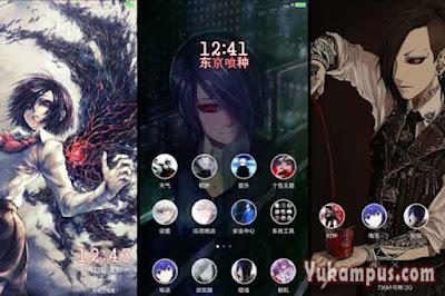 download tema xiaomi tokyo ghoul touka chan