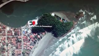 Praia da Saudade, em Itanhaem