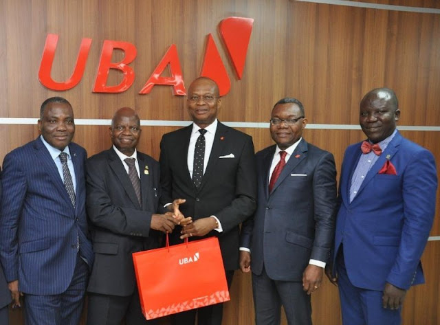 UBA Plc hosted the executives of the Chartered Institute of Bankers of Nigeria (CIBN)