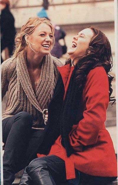 Blair e Serena amizade verdadeira