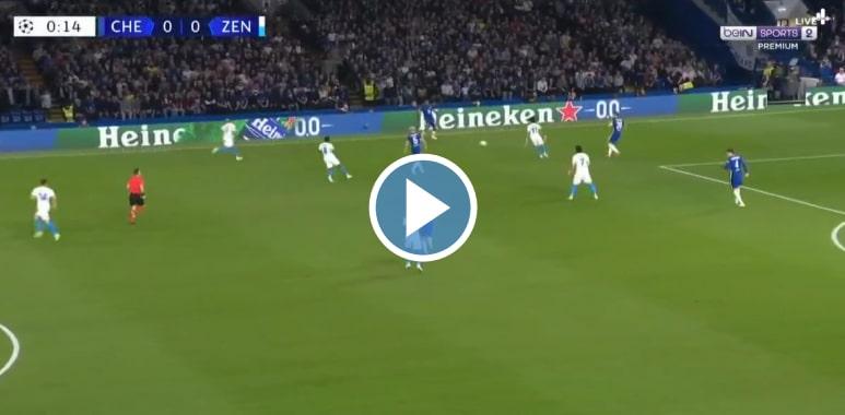 Chelsea vs Zenit St Petersburg Live Score