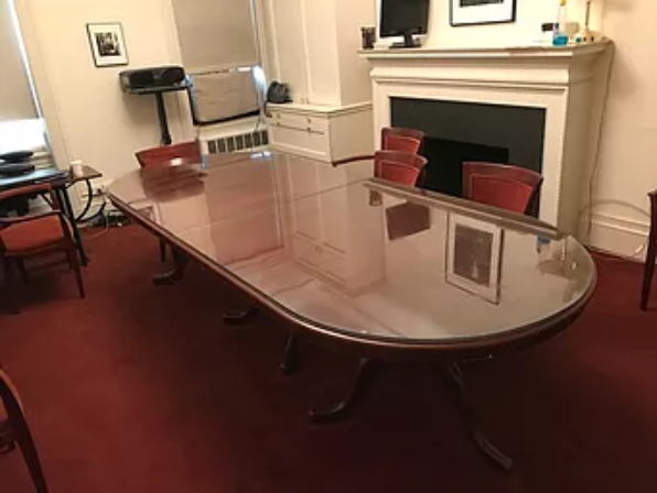 f4c0df9d6c2 A Custom Glass Table Top is the perfect way to enhance and protect your  furniture. A glass table top on your timber or painted high gloss dining  room table ...