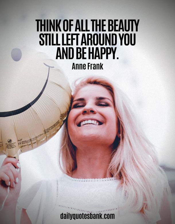 Inspirational Quotes About Being Happy Again